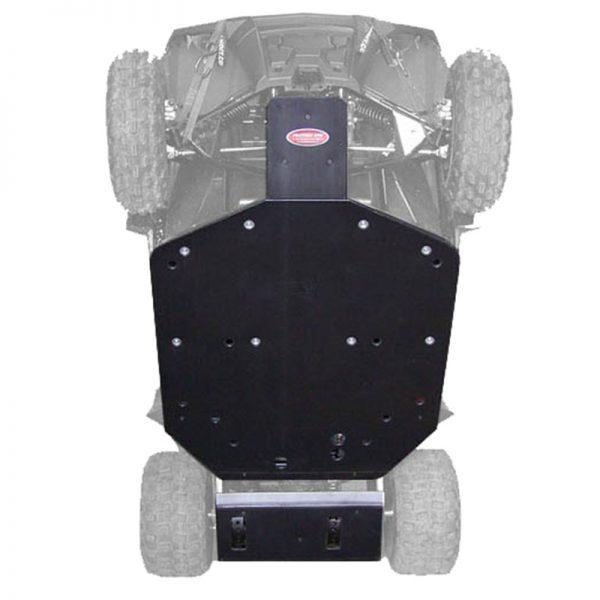 Polaris RZR-170 Full Coverage UHMW Skid Plates