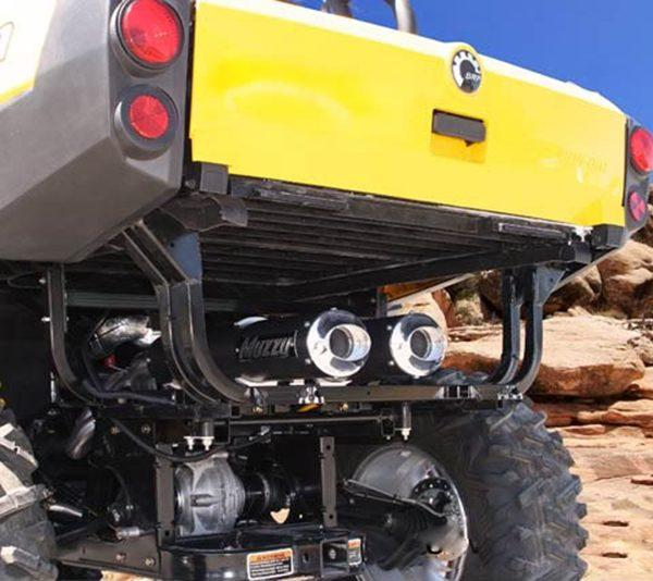 Muzzy Can-Am Commander Exhaust System