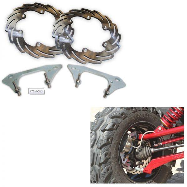 Streamline Brakes UTV Oversized Big Brake Kits