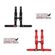Crow RZR RS1 Restraints with Sewn-in Padded Shoulder Straps,Crow Restraints with Sewn-in Padded Shoulder Straps.Factory UTV Polaris RZR-170 Full Restraint system.Factory UTV Can-Am Commander Restraint System.Factory UTV Can-Am Maverick Restraint System