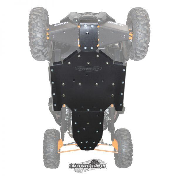 Polaris RZR XP 1000 Three Eights UHMW Skid Plate,Polaris RZR XP-1000 Half Inch UHMW Skid Plate