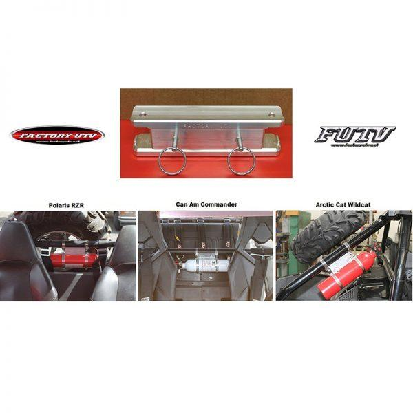 Billet Fire Extinguisher Roll Cage Mount