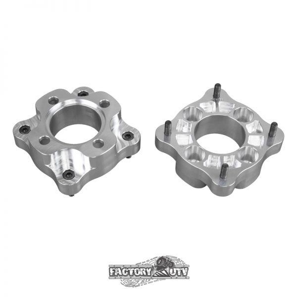 Factory UTV Two Inch RZR-170 Billet Spacer-Adapters,Two Inch Machined Billet Aluminum Wheel Spacers