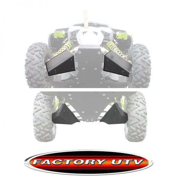 Factory UTV Can-Am Maverick Max XRS UHMW A-Arm Guards,Can-Am Maverick X ds UHMW A-Arm Guards,Can-Am Maverick-Maverick Max UHMW A-arm Guards.Factory UTV Maverick X ds UHMW A-arm Guards