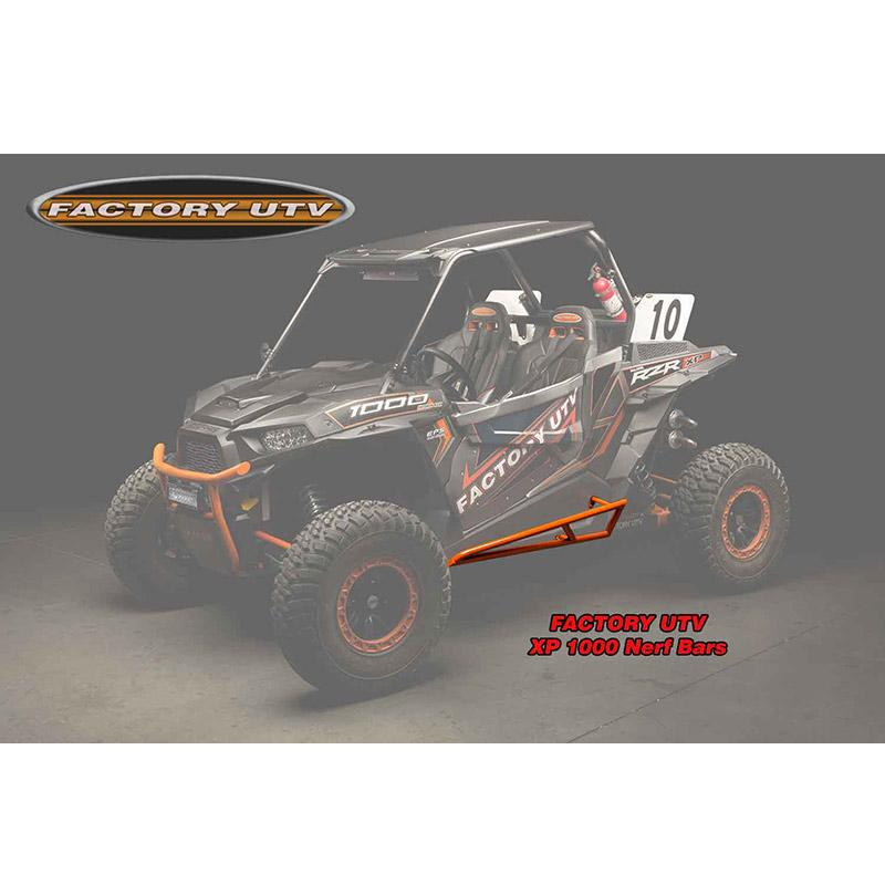 Factory UTV Polaris RZR-900 XP-1000 Series Nerf Bars