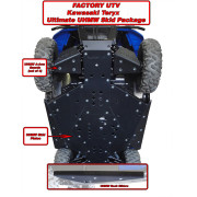 Teryx-Teryx-4 Ultimate Three Eights UHMW Armor Kit.Teryx-Teryx-4 Ultimate Half Inch UHMW Armor Kit