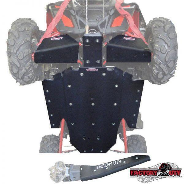 RZR XP-900 Ultimate Three Eights UHMW Skid Package,Polaris RZR XP-900 Ultimate Half Inch UHMW Skid Package