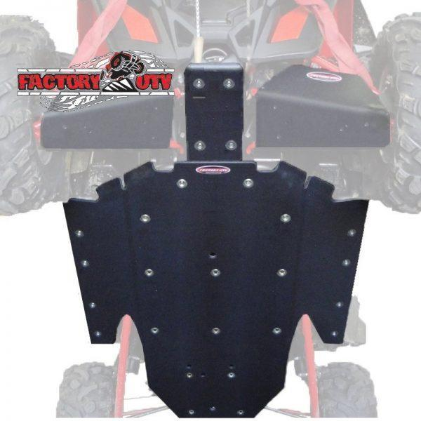 RZR XP-900 Three Eights UHMW Skid Plate Kit