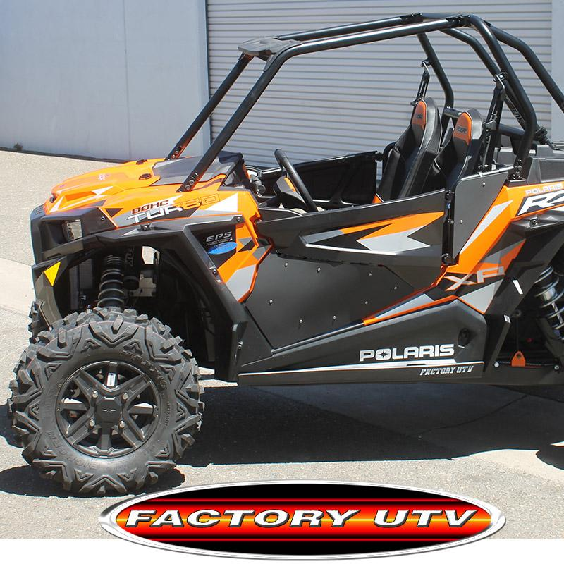 Polaris RZR XP Complete Turbo Door Inserts