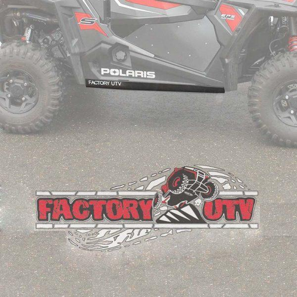 Polaris RZR 1000-S Three Eighths Inch UHMW Rock Sliders