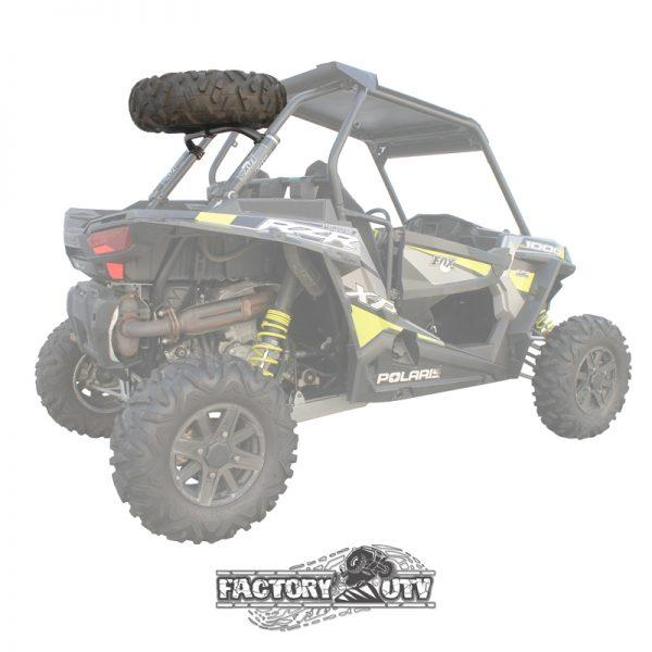 Polaris RZR XP Steel Dual Clamp Spare Tire Mount Assembly