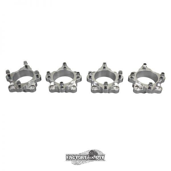 Four-Two Inch Machined Billet Aluminum Wheel Spacers