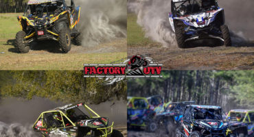 Factory UTV Support Racers Sweep Top 4 Pro UTV Spots at Wild Boar GNCC Round1