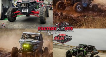 Factory UTV Support racers sweep top 4 spots at 2017 SCORE International Baja 500!