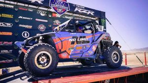 Factory UTV support racer Phil Blurton Takes UTVWC