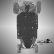 Can-Am Maverick X3 Max Three Eighths Inch UHMW Skid Plate,Can-Am Maverick X3 Max Half Inch UHMW Skid Plate