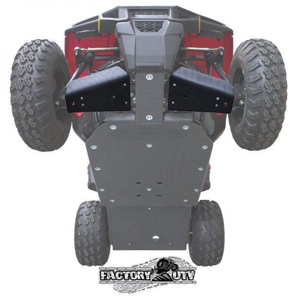 Factory UTV Polaris Sportsman ACE 150 UHMW A-Arm Guard Kit
