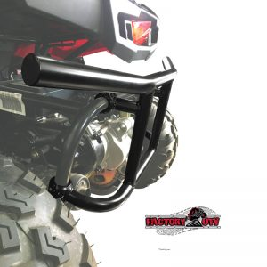 Factory UTV Polaris Ace 150 Custom Steel Rear Bumper