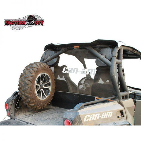 Factory UTV Can-Am Commander Bed Mount Spare Tire Carrier
