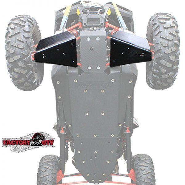 Factory UTV Polaris RZR RS1 UHMW A-Arm Guards