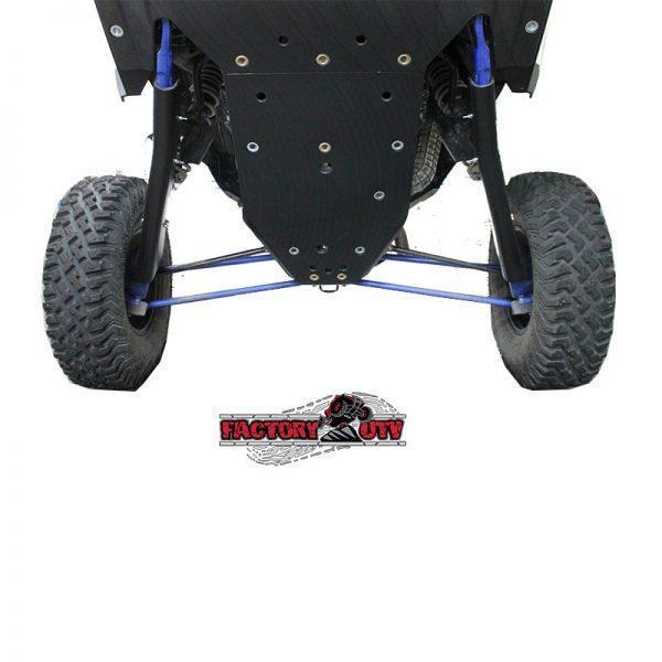 Factory UTV Polaris RZR XP Turbo S UHMW Trailing Arm Guards