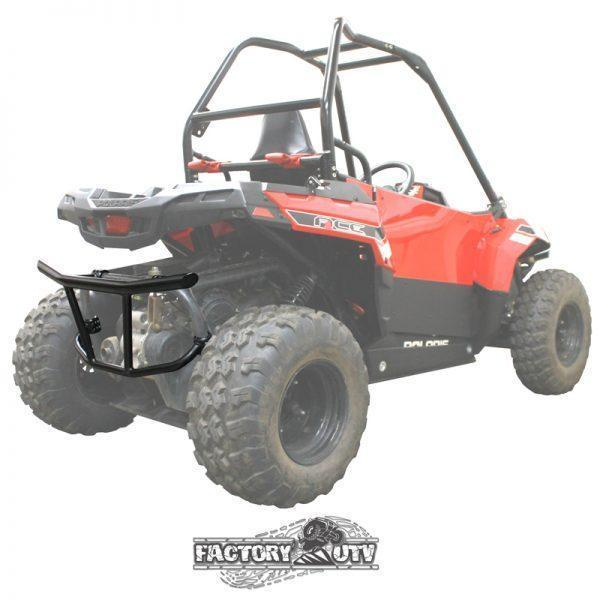 Factory UTV Polaris Ace 150 Custom Steel Rear Bumper V2