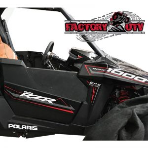 Factory UTV Polaris RZR RS1 Complete Door Insert Kit