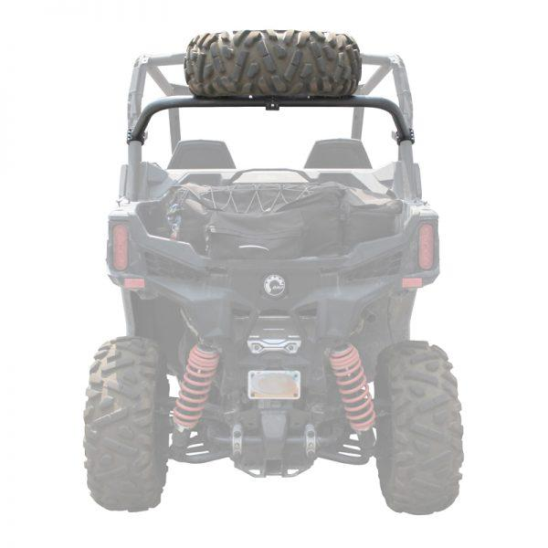 Factory UTV Can Am Maverick Trail Steel Dual Clamp Spare Tire Mount