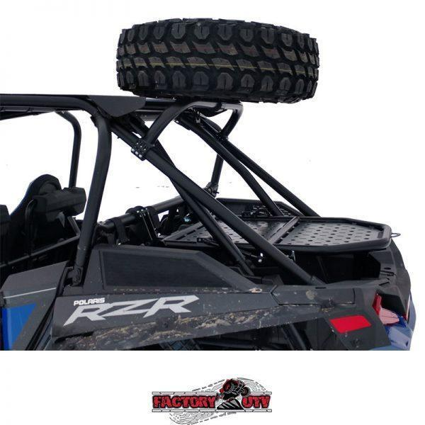 Factory UTV Polaris RZR XP Turbo S Steel High Profile Dual Clamp Spare Mount