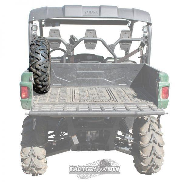 Factory UTV Yamaha Viking Bed Mount Spare Tire Carrier rear shaded
