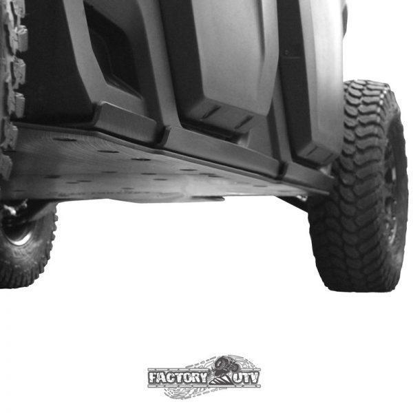 Factory UTV Can-Am Defender Max Three Eighths UHMW Rock Sliders