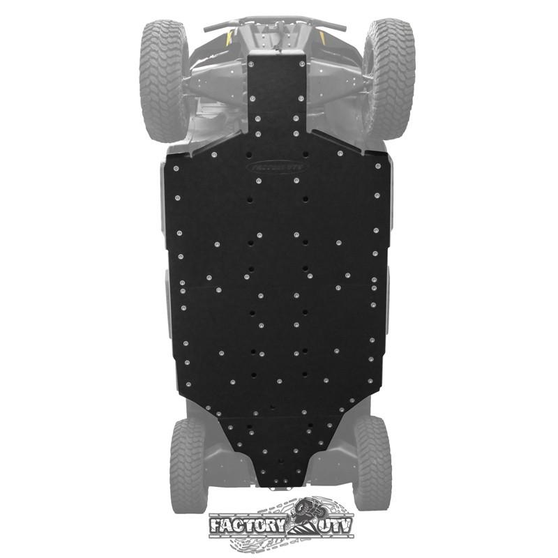 Factory UTV Can-Am Defender Max Three Eighths UHMW Skid Plate