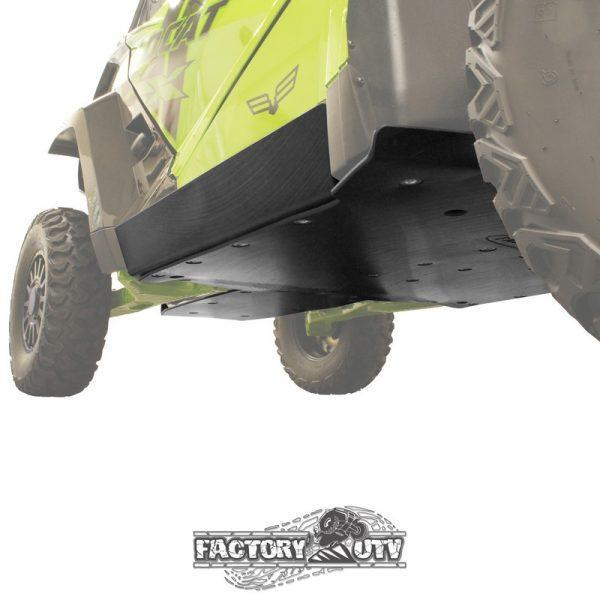 Factory UTV Textron Wildcat XX Three Eighths Inch UHMW Rock Sliders