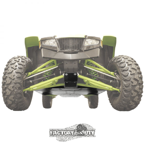 Factory UTV Textron Wildcat XX Three Eighths Inch UHMW Skid Plate