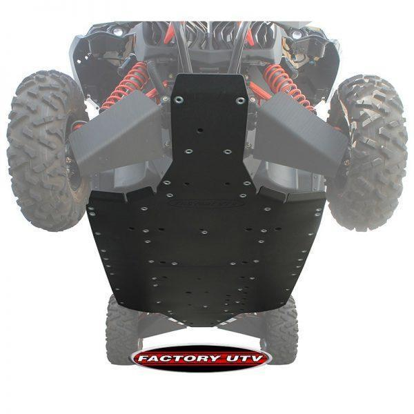 Can-Am Maverick Max Three Eights Inch UHMW Skid Plate