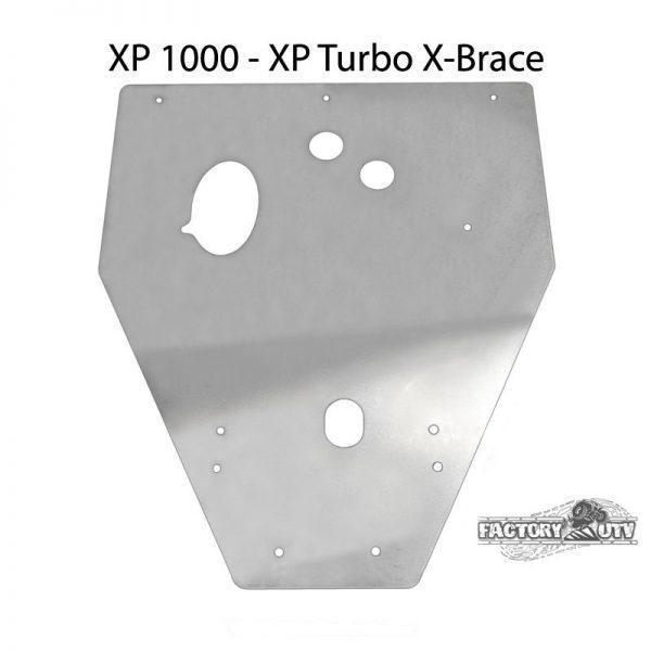 RZR XP4 1000 Three Eights UHMW Skid Plate
