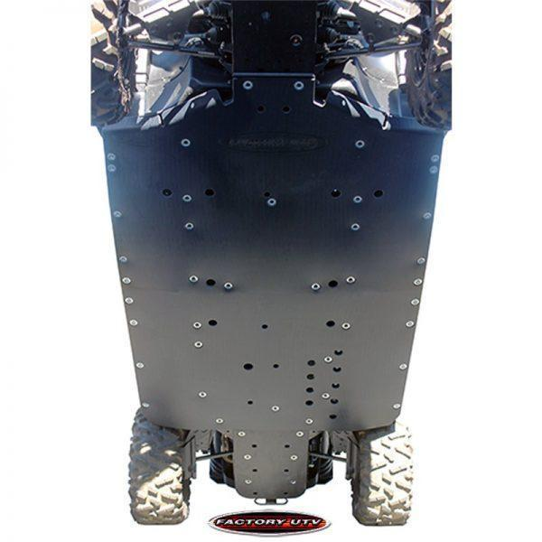Can-Am Commander Max Three Eighths UHMW Skid Plate
