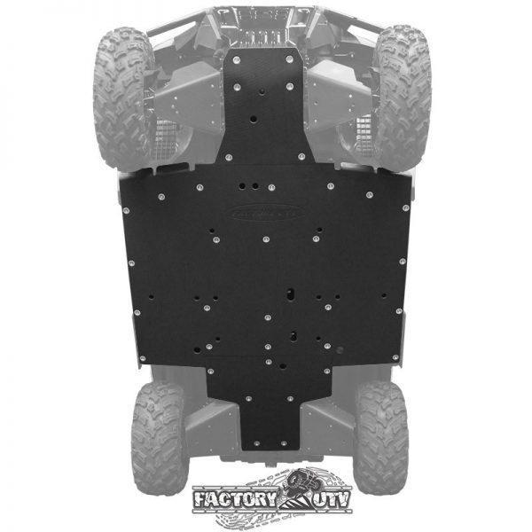 Honda Pioneer 1000 Three Eighths Inch UHMW Skid Plate Kit