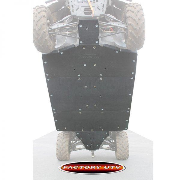 Polaris Ranger Crew 900 Three Eighth UHMW Skid Plates