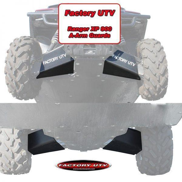 Polaris Ranger XP 900 UHMW A-arm Guards