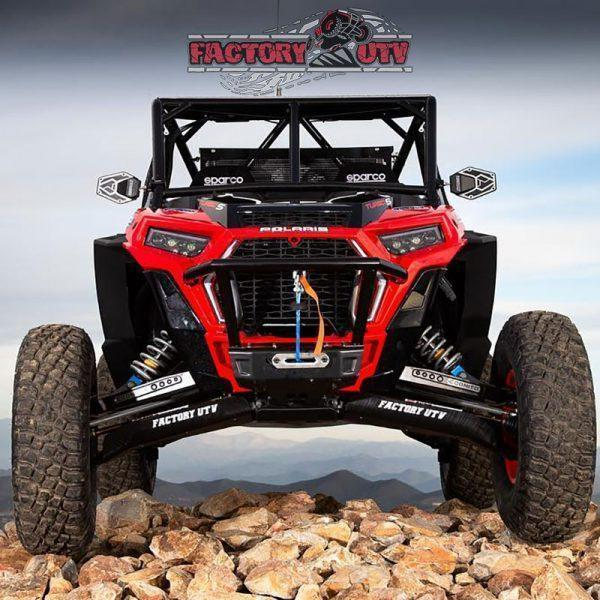 Factory UTV Polaris RZR XP Turbo S UHMW A-Arm Guards