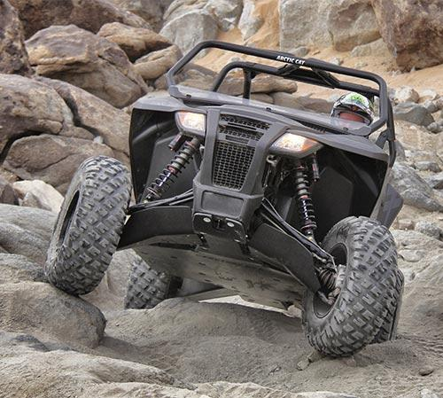 Arctic Cat Wildcat Trail Ultimate Three Eights UHMW Skid Package