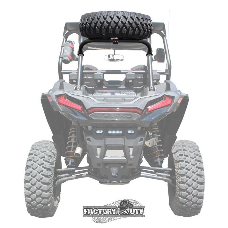 Polaris Rzr Xp Steel Above The Roof Dual Clamp Spare Tire
