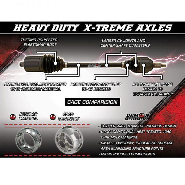 Demon Powersports Yamaha YXZ X-treme Heavy Duty UTV Axles,Demon Powersports X-treme Heavy Duty UTV Axles,Demon Powersports X3-X3 Max X-treme Heavy Duty UTV Axles,Demon Powersports RZR RS1 X-treme Heavy Duty UTV Axles,Demon Powersports RZR XP Turbo X-treme Heavy Duty UTV Axles,Demon Powersports RZR XP-1000 X-treme Heavy Duty UTV Axles,Demon Powersports X-treme Heavy Duty UTV Axles