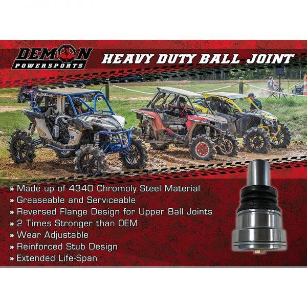 Demon Powersports UTV Heavy Duty Ball Joints