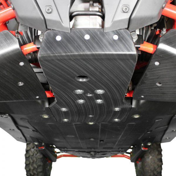 Factory UTV RZR Pro XP UHMW Standalone Front Diff Skid Plate