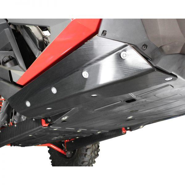 Factory UTV RZR Pro XP UHMW Rock Sliders