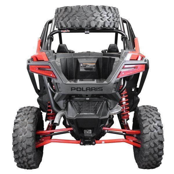 Factory UTV Polaris RZR Pro XP Dual Clamp Spare Tire Mount