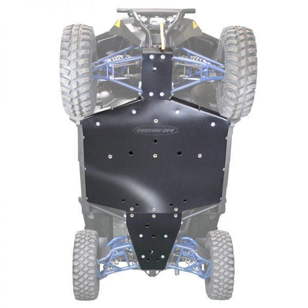 Factory UTV Polaris General UHMW Skid Plate
