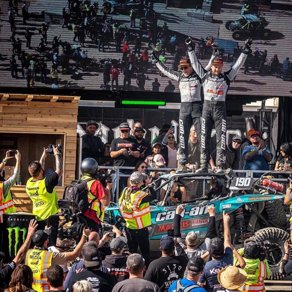 Factory UTV Support Racers dominate filed at King Of Hammers 2020